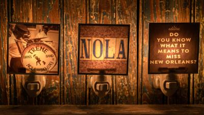 Get Glowing with New Orleans-Themed Nightlights