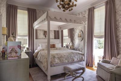 Local Interior Designer Creates Elegant Childhood Bedroom with Sentimental Touch