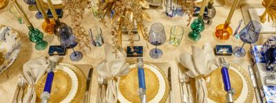 This Hanukkah Tabletop Combines Old and New