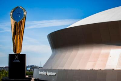 See the National Championship Trophy Up Close at This Free Event