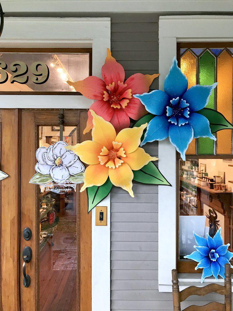 Door Flowers