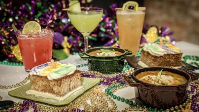 Celebrate Mardi Gras with Meril's Tasty Options