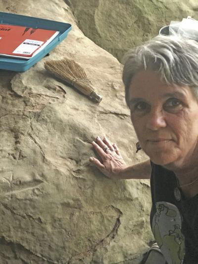 Carmen with Petroglyphs