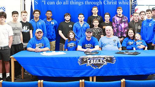 TIMES-VOICE  Breathitt Bobcat Chandler Howard signs with Alice Lloyd College