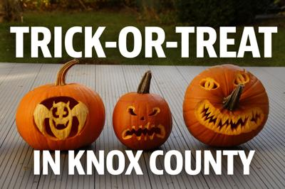 Trick or treat in Knox