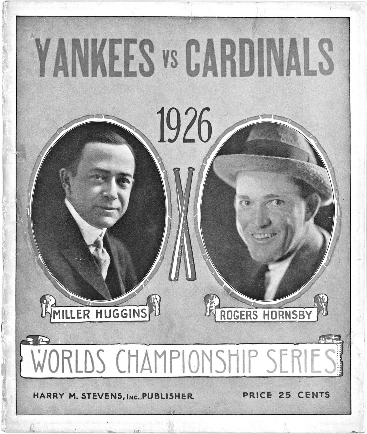 Yankees and Cards Managers 1926 World Series.jpeg