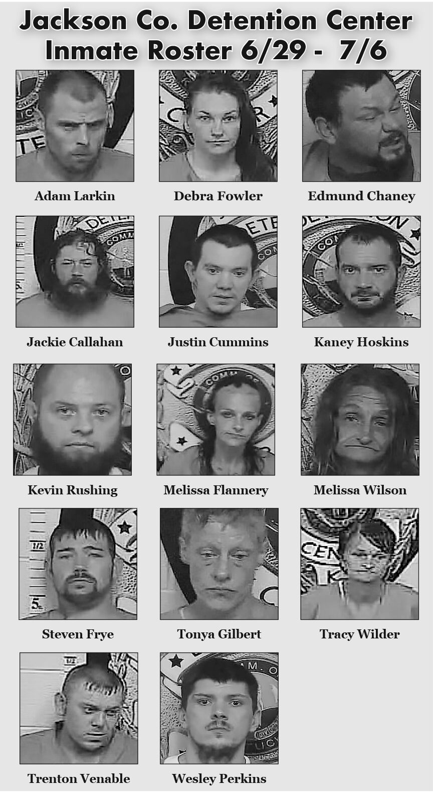6.29-7.9 JC Inmate Roster