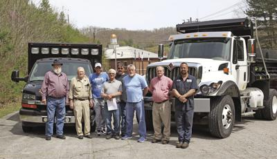 Fiscal court buys equipment; talks about road issue