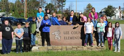 End of the Year Writings at Lee Co. Elementary