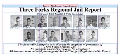 Three Forks Regional Jail Report 8-5-20