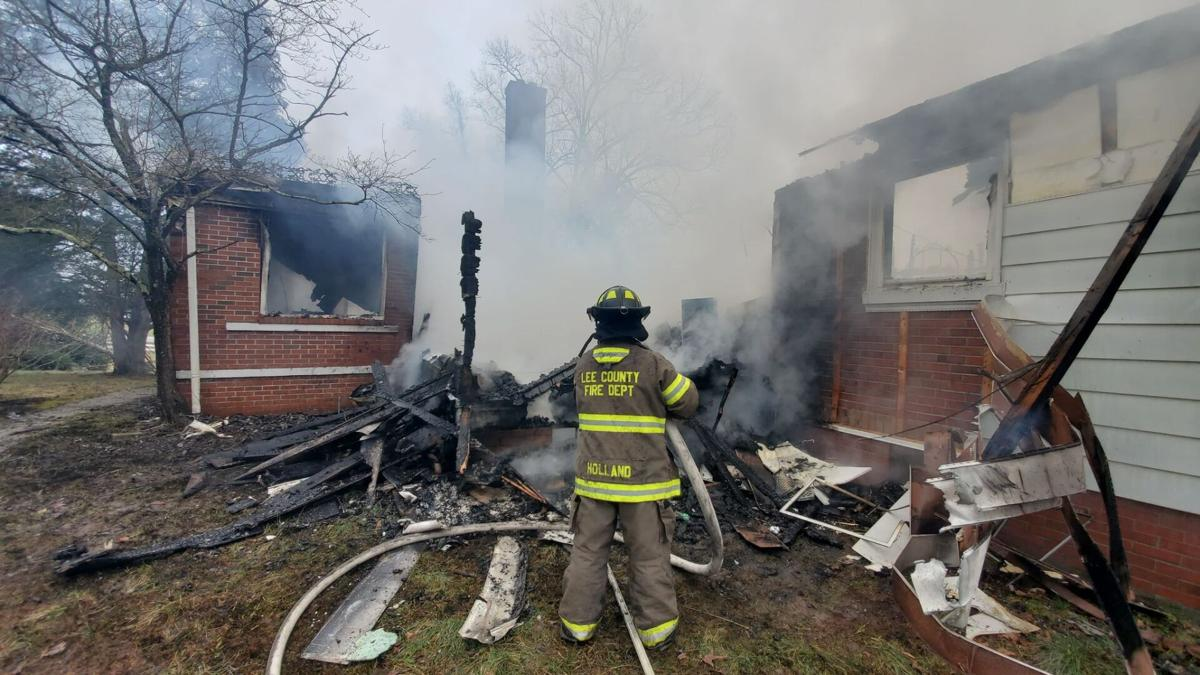 Historic Home Burns to the Ground in Lee County