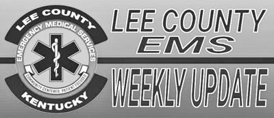 Lee Co EMS Weekly Update