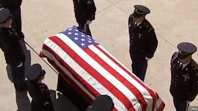 The Meaning of the Flag-Draped Coffin  By: Rob Amsden