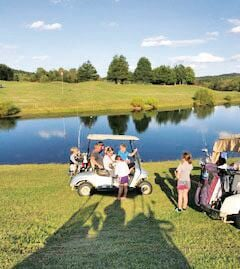 Scenes from Owsley County's Own Sag Hollow Golf Club