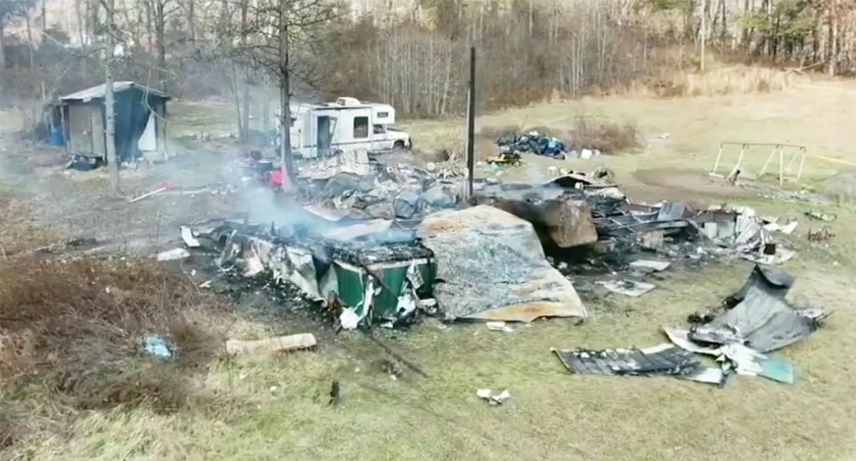 Hutch House Fire