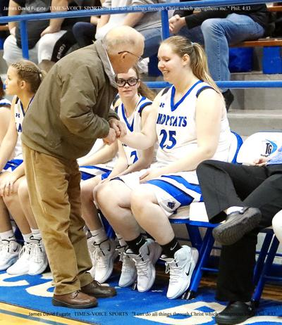 Coach J.P. Deaton leads his girls to state (as published in Times-Voice 2004)