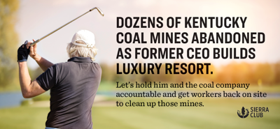 New Billboard calls out Blackjewel and former CEO for abandoning Kentucky coal mine reclamation