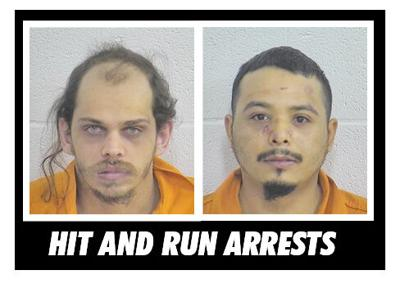 Clay men charged after striking vehicle