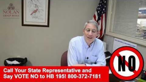 Say NO to Kentucky House Bill 195!