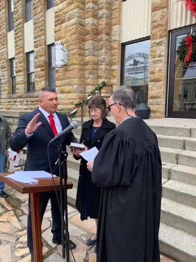 Wesley Sworn in as the State Representative for the 91st District