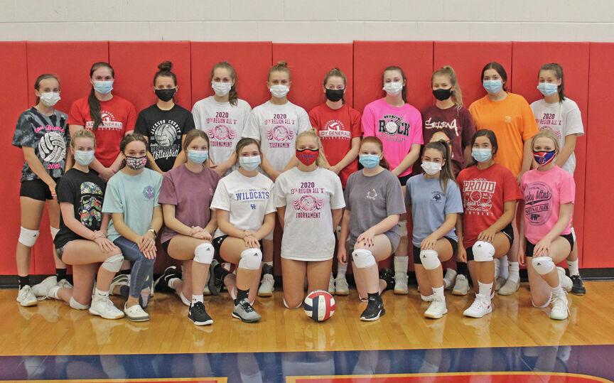 2020 JCHS Lady Generals Volleyball Team