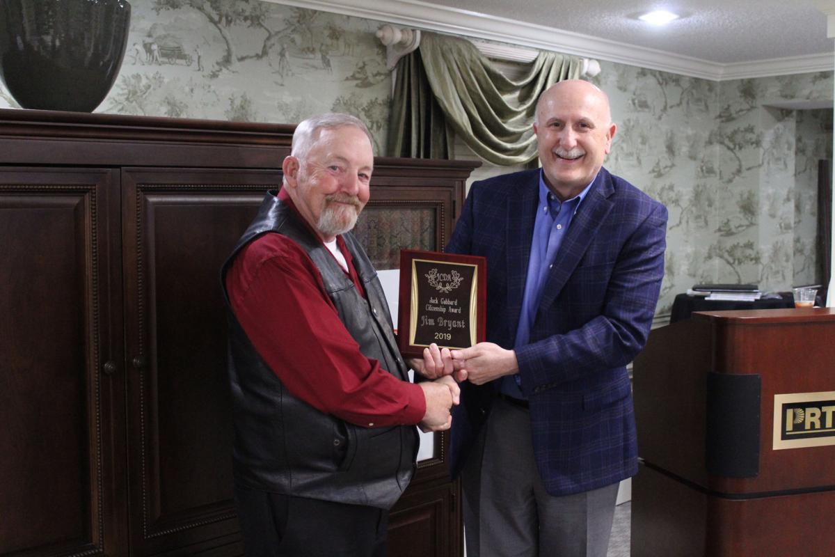 Keith Gabbard presents Jim Bryant with the 2019 Jack Gabbard Citizenship Award.jpg