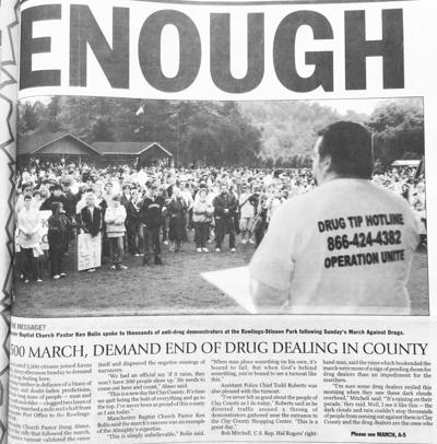 2003 drug march remembered