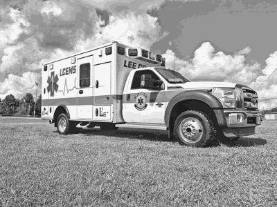 LCEM Director Introduces New Ambulance