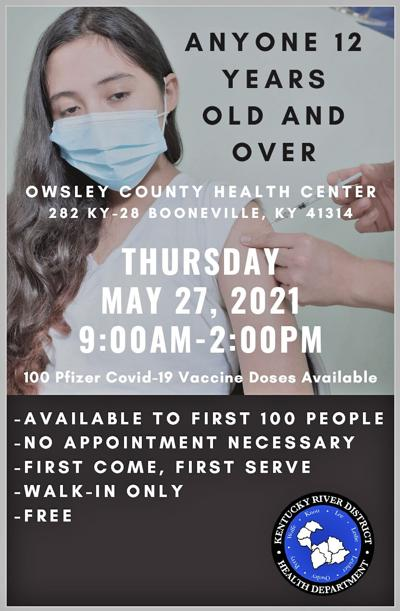 Owsley Co Health Center Covid-19 Vaccines