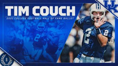 Tim Couch named to college football Hal of Fame ballot