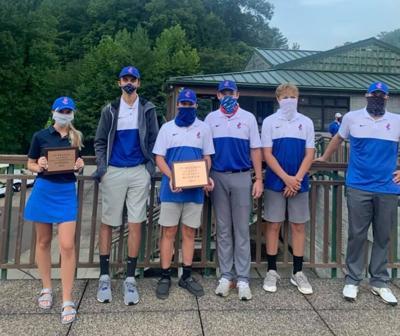 JCHS 2020 Golf team