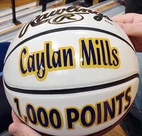 Caylan Mills ball