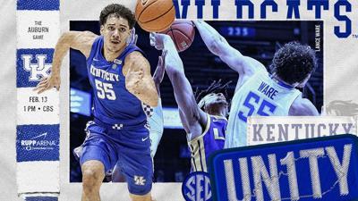 Kentucky hosts Auburn