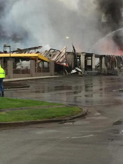 UPDATE--McDonald's owner speaks about fire