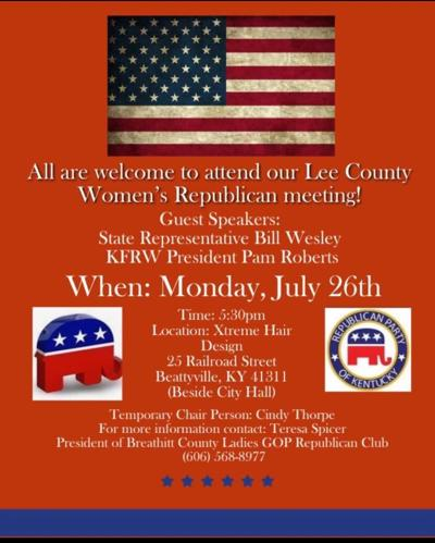 Republican Women's Meeting