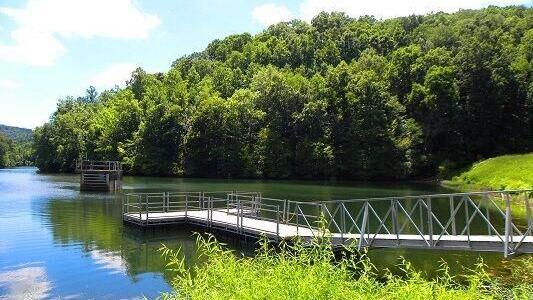 Boat access closed at Bert T. Combs Lake