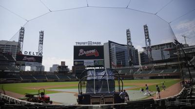 Braves gearing up for opening day