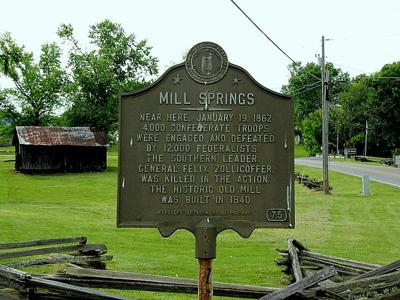 McConnell, Rogers to celebrate Mill Springs Battlefield