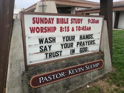 Berea Baptist sign