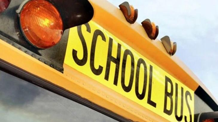 Madison County School bus involved in minor accident