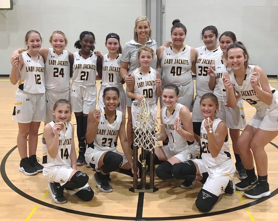 MMS Lady Jackets with trophy