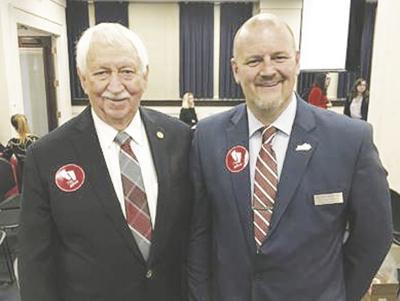 Judge Shane Gabbard and Senator Albert Robinson