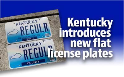 New Kentucky license plates