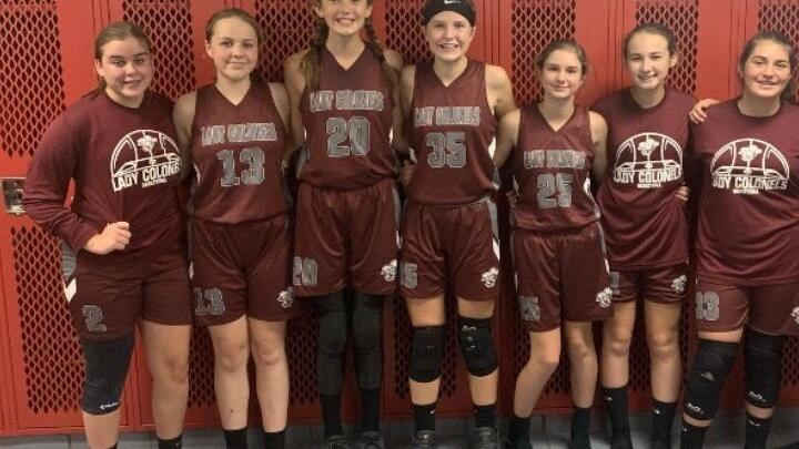 2020 JCMS Lady Colonels Basketball