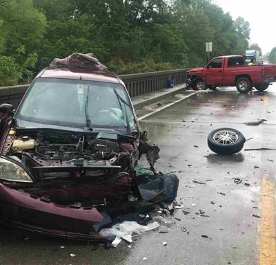 DUI head-on crash injures one