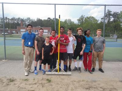 Lee County Track and Field Gives Thanks to County