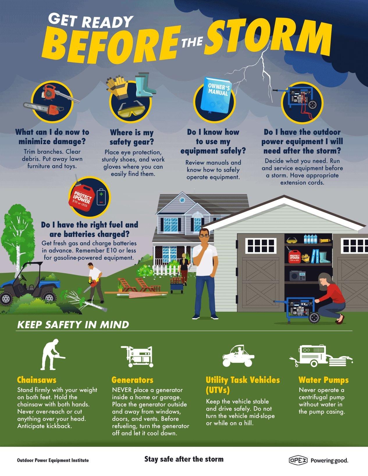 STORM PREPAREDNESS: Be Ready Before a Storm Strikes