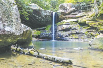 Flat Lick Falls in Jackson County, KY