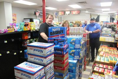 Shell Apple Mart gets first shipment of Beer