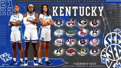 Kentucky WBB announces 2021-22 schedule